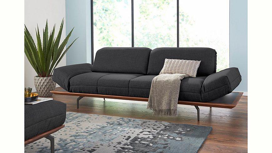 hülsta sofa 4-Sitzer Sofa »hs.420« wahlweise in Stoff oder Leder