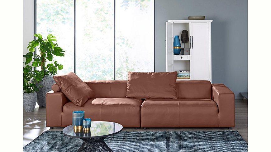 hülsta sofa Big-Sofa 4-Sitzer »hs.432« mit niedrigem Rücken