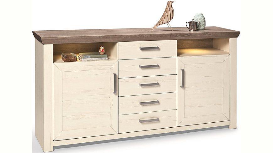 set one by Musterring Sideboard »york« Typ 55, Pino Aurelio, Breite 185 cm