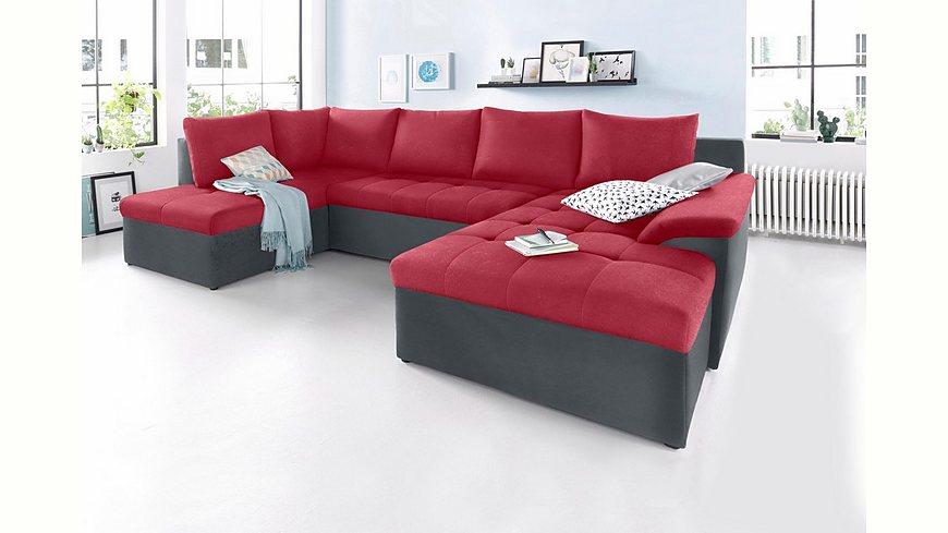sit&more Wohnlandschaft XL, wahlweise mit Bettfunktion