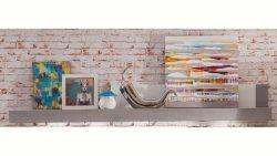 trendteam Wandboard »Pure«, Breite 210 cm