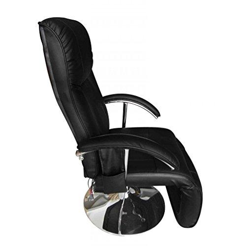 Anself Fernsehsessel TV Sessel Relaxsesse aus Kunstleder mit 10 Point Massage 2 Farbe Optional