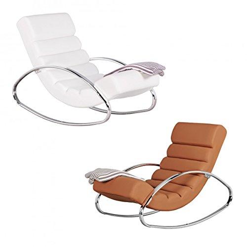 FineBuy Relaxliege Sessel Fernsehsessel Relaxsessel Design Schaukelstuhl Wippstuhl modern