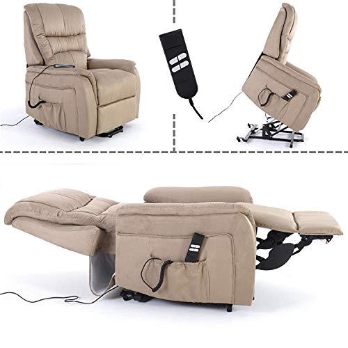 MACOShopde by MACO Möbel Fernsehsessel mit Aufstehhilfe, 2 Motoren, Liege- und Relaxfunktion