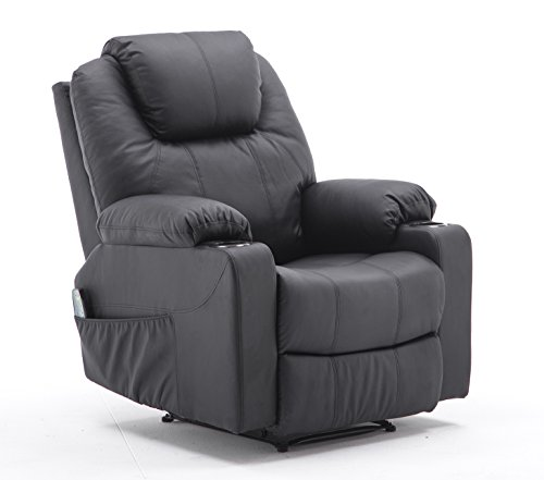 MCombo Massagesessel Fernsehsessel Relaxsessel mit Vibration+Heizung 7031