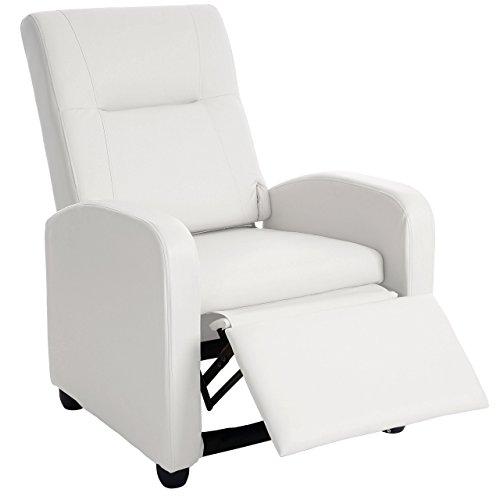 Mendler Fernsehsessel Denver Basic, Relaxsessel Relaxliege Sessel, Kunstleder