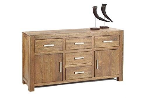 Quadrato - Sideboard/Kommode INDO, Holz Sheesham natur
