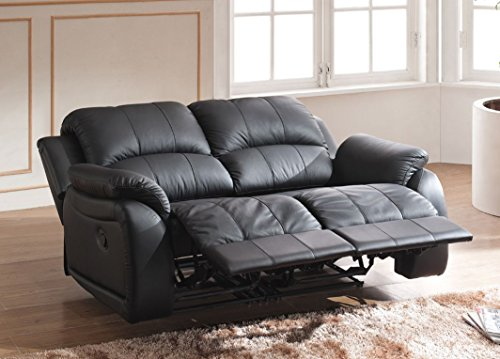 Voll-Leder Couch Sofa Relaxsessel Fernsehsessel Fernsehsofa 5129-2-S sofort
