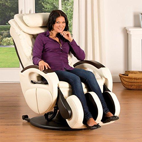 aktivshop Massagesessel »Komfort Deluxe« mit Shiatsu-Massagefunktion und Transportrollen Relaxsessel
