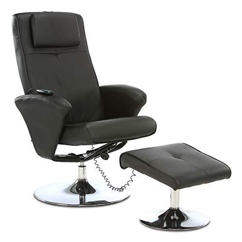 aktivshop Relaxsessel Fernsehsessel mit Hocker & Massagefunktion, Drehbar