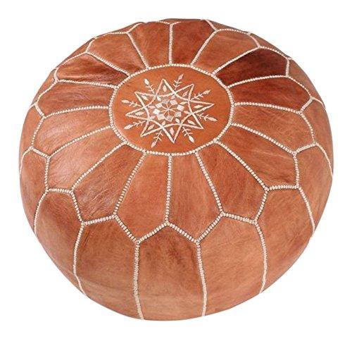 Marokkanischer Sitzsack/Pouf, braun