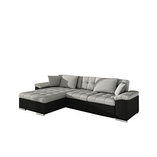 Mirjan24  Großes Design Ecksofa Diana, Eckcouch mit Bettkasten und Schlaffunktion, Elegante Couch, Moderne Polsterecke Sofa, Farbauswahl, Couchgarnitur, Schlafsofa, Bettsofa vom Hersteller