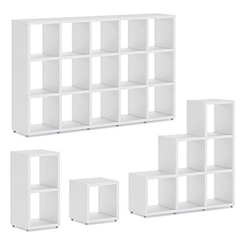 BOON Regalsystem | modular & flexibel | 40 Größen - weiß