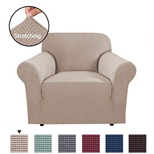 BellaHills 1-Stück Jacquard Sofa Überwürfe Sofabezug Stretch Elastische Sofahusse Sofa Abdeckung