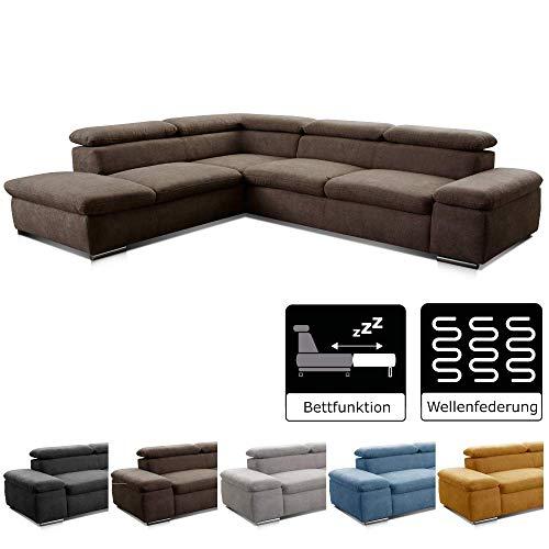 Cavadore Ecksofa Alkatraz / Sofa / Modernes Design