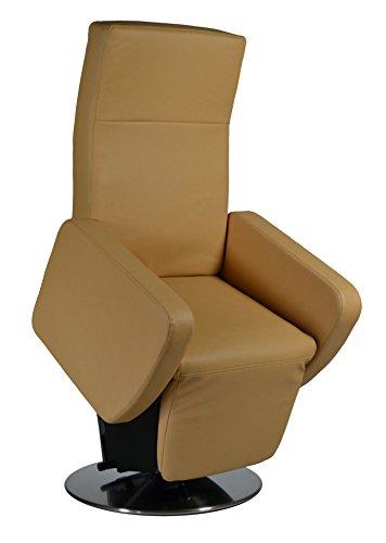 DEVITA elektrischer Aufstehsessel Fernsehsessel Relaxsessel Pflegesessel mit Aufstehhilfe Rimini Lift bis 130 kg