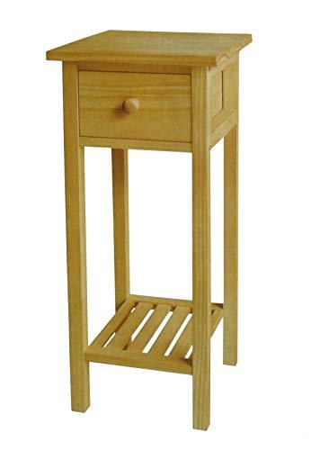 Dynamic24 Beistelltisch Kiefer Holz Telefontisch Konsolentisch Blumentisch Konsole Tisch