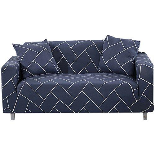 FORCHEER 1/2/3/4 Sitzer Sofabezug Sofaüberwurf Sesselhussen Elastisch Hautfreundlich 90-290cm