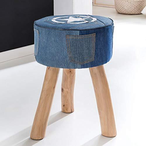 FineBuy Design Sitzhocker 35 x 35 x 45 cm | Fußhocker | Hocker Beistellhocker