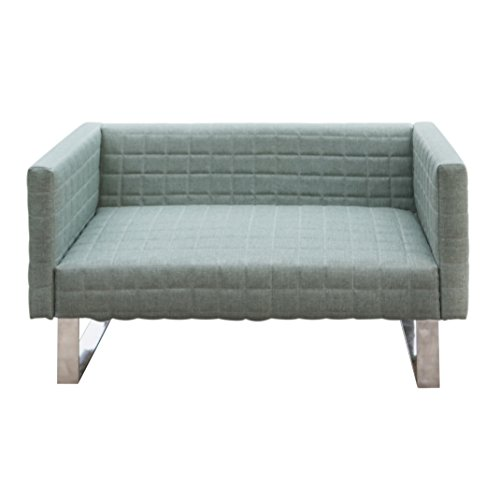 Furniture 247 2-Sitzer Sofa mit Eleganten Metallfüßen