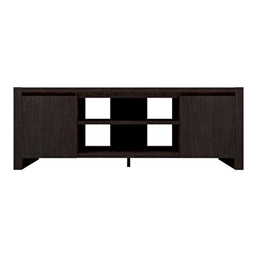 Furniture 247 Zeitgenössische TV-Einheit mit 2 Schränken