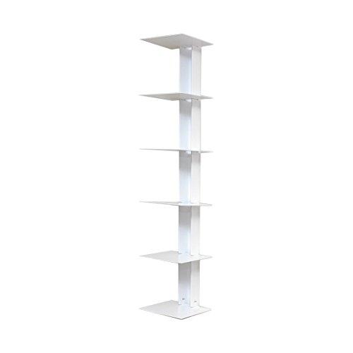 Haseform Bücherturm 90 cm (für 1m Bücher) Weiss Bücherregal Wandregal