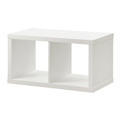 Ikea KALLAX Regal in weiß; (77x42cm)