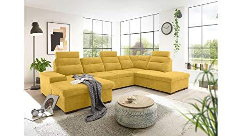 JUSTyou Plano Wohnlandschaft Polsterecke Couchgarnitur (HxBxL): 86x219x324 cm in diversen Varianten
