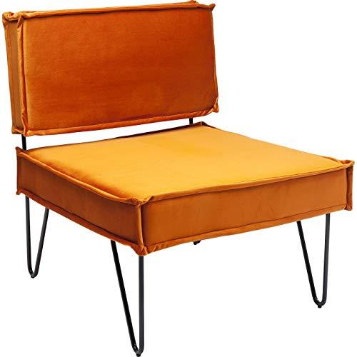 Kare Design Sessel Cubo Zimt Braun 65 75 72 65 x 72 x 75 Sessel Cubo Zimt Teilholz u. MDF