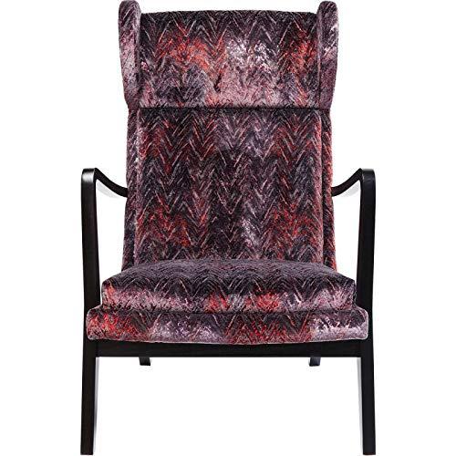 Kare Design Sessel Silence Fancy Rot Rot 65 106 82 65 x 82 x 106 Sessel Silence Fancy Rot Kunststoff, Massivholz