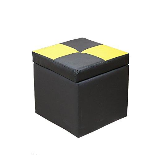 LIUXUEPINGdengzi Niedriger Stuhl Lederhocker Sofa Hocker Lagerstuhl Lagerstuhl Kreativer Stuhl Bank Schuhbank Wechseln