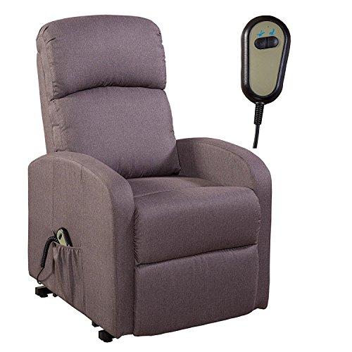 MACO Import Fernsehsessel Relaxsessel TV Sessel Aufstehhilfe Fernbedienung