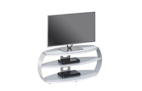 MAJA Möbel TV-Rack Glas Grau