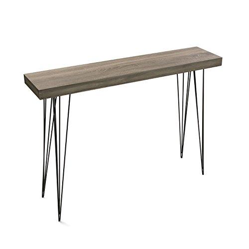 MIMMA Versa - Eingangtisch aus Eichenholzfarbe DALLAS