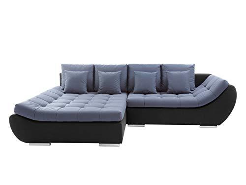 Mirjan24  Elegante Polsterecke Mono, Design Ecksofa, Eckcouch mit Bettkasten und Schlaffunktion, Schlafsofa, L-Form Moderne Couch Couchgarnitur