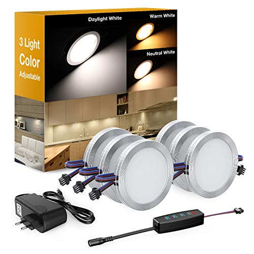Onforu UV LED Unterbauleuchte Dimmbar