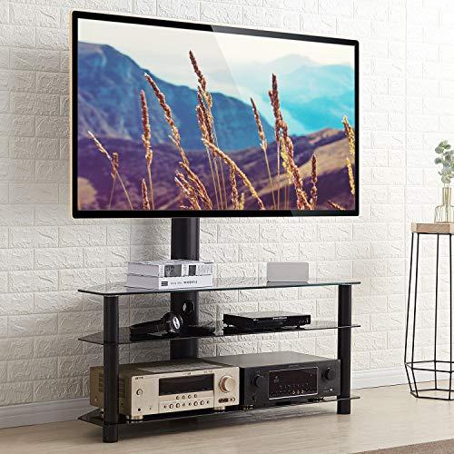 RFIVER Universal TV Ständer Standfuß Möbel Schwenkbar Höhenverstellbar