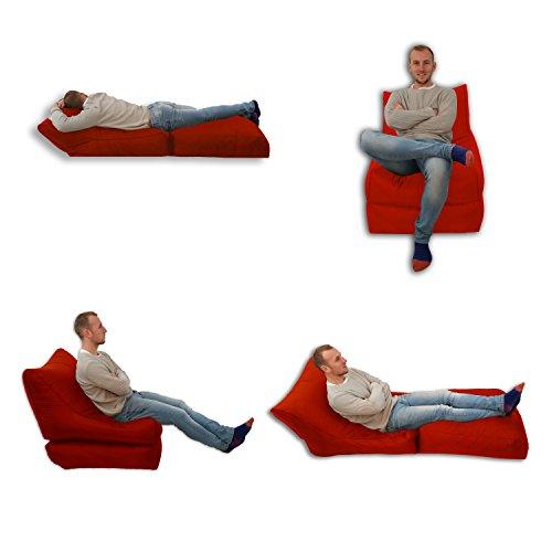 Sitzsack/Sessel, für Innen und Außen, Extra groß, Gaming-Sitz, XXXL, Wetterfest, wasserdicht)