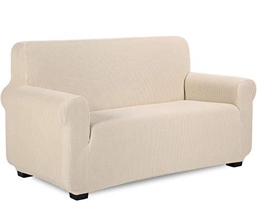 TIANSHU Sesselbezüge,Spandex Sofabezug Stretch Couchbezug Elastischer Antirutsch Stretchhusse Weich Stoff
