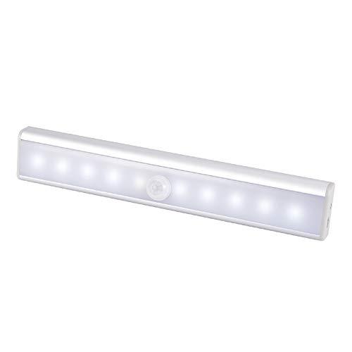 WZTO Schrankleuchte mit Bewegungsmelder 10 LED Unterbauleuchte