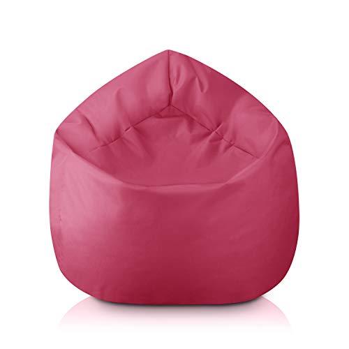 byufya Sitzsack mit EPS Styropor Füllung - In & Outdoor - Verschiedene Farben & Größen - Bean Bag Sitzkissen Bodenkissen Kinder Sitzsäcke Relax Game Möbel Kissen Sessel Sofa Gaming
