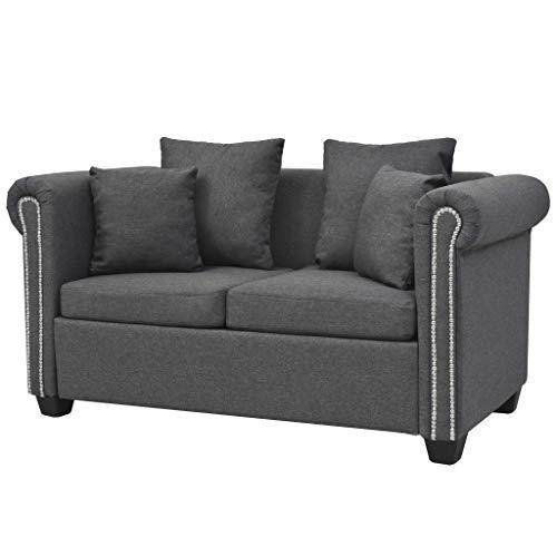 vidaXL Sofa Stoff Sofagarnitur Polstersofa Couchgarnitur Couch mehrere Auswahl
