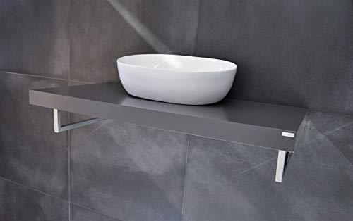 Carl Svensson Edler Waschtisch Waschtischplatte Waschkonsole 80 x 50 cm