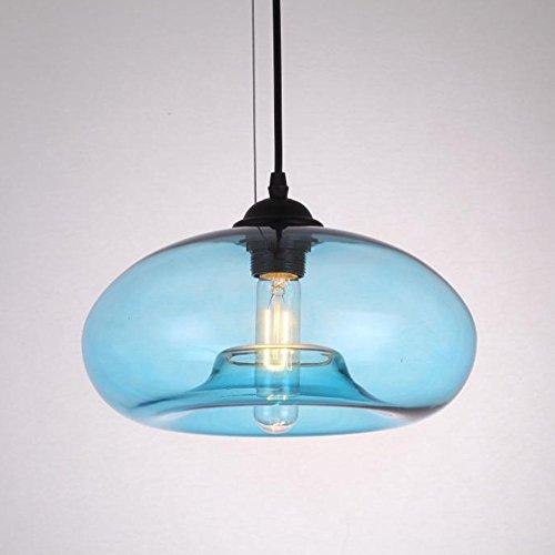 E27 Vintage Industrial Edison Glas Pendelleuchte