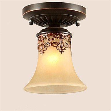 JJ Moderne LED-Deckenleuchten YL Kronleuchter Pendelleuchten LED Vintage Deckenlampen klassische rustikale Lodge Vintage Retro Laterne Wohnzimmer Schlafzimmer Esszimmer