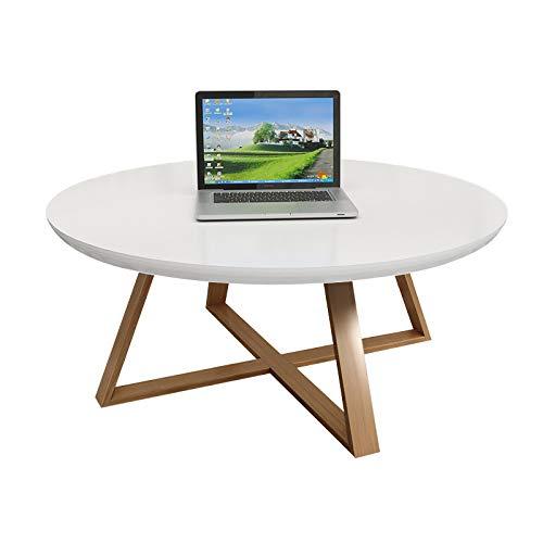XP Teetisch, Rundes Schlafzimmer, Kleiner Couchtisch, Einfaches Wohnzimmer, Kreativer Massivholz-Beistelltisch, Kleiner Runder Kleiner Schreibtisch