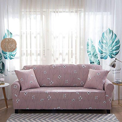 HOTNIU Elastischer Sesselbezug 1-Stück Stretch Sofa-Überwürfe, Sofaüberzug, Sofahusse, Sofabezug, Sofa Abdeckung Hussen für Couch, Sessel in Verschiedene Größe und Farbe