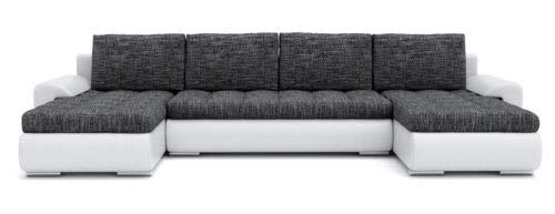 Sofini Ecksofa Tokio III mit Schlaffunktion! Best ECKSOFA! Couch mit Bettkästen! (Lawa 17+ Soft 17)